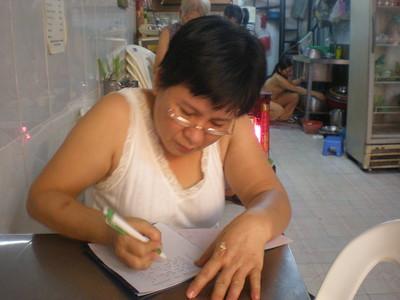 Owner Restaurant at 219/13 Pham Ngu Lao