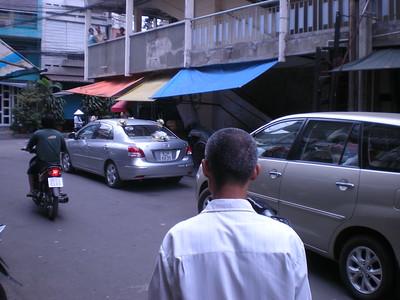 Saigon - Wedding near Miss Mai's house