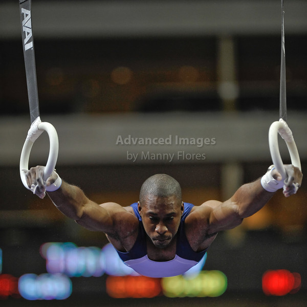 2009 Visa Championship:  Men Competition (Aug. 12th - 15th) <br /> ______________ in action at the American Airlines Center in Dallas, Texas.