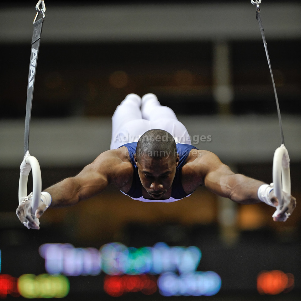 2009 Visa Championship:  Men Competition (Aug. 12th - 15th) <br /> #90 Nyika White of International in action at the American Airlines Center in Dallas, Texas.
