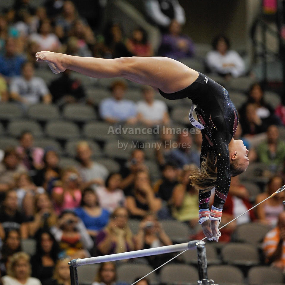 2009 Visa Championship:  Women's Competition (Aug. 12th - 15th) <br /> #137 Kaitlyn Clark of Precision in action at the American Airlines Center in Dallas, Texas.
