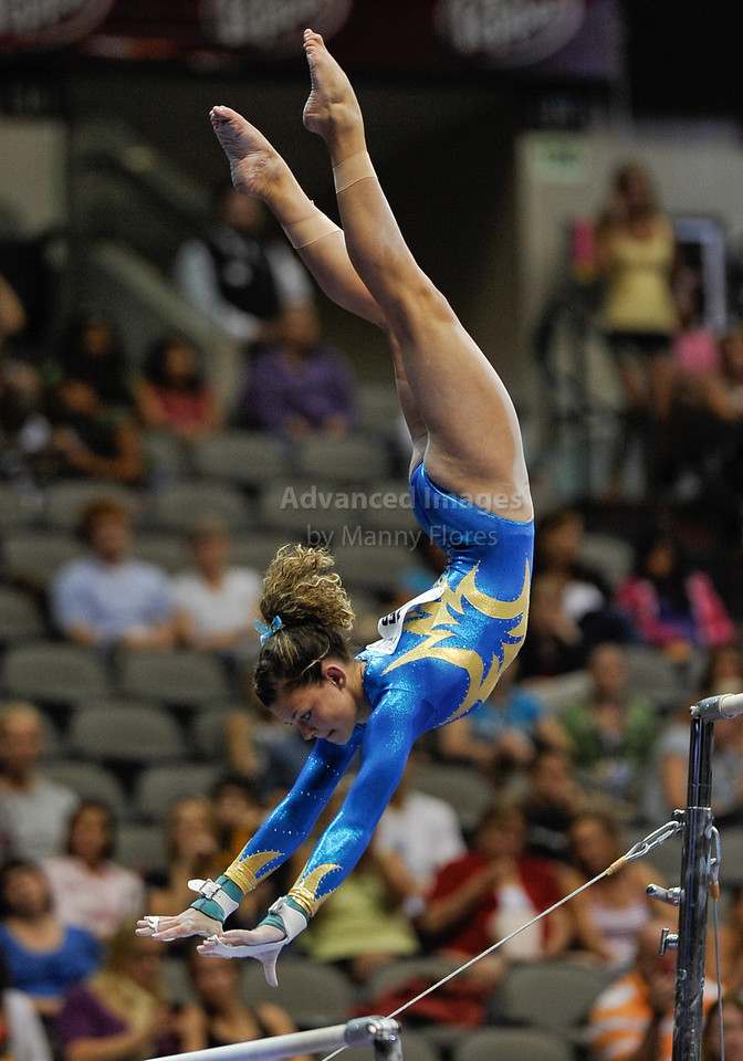 2009 Visa Championship:  Women's Competition (Aug. 12th - 15th) <br /> #153 Morgan Steigerwalt of Parkettes in action at the American Airlines Center in Dallas, Texas.