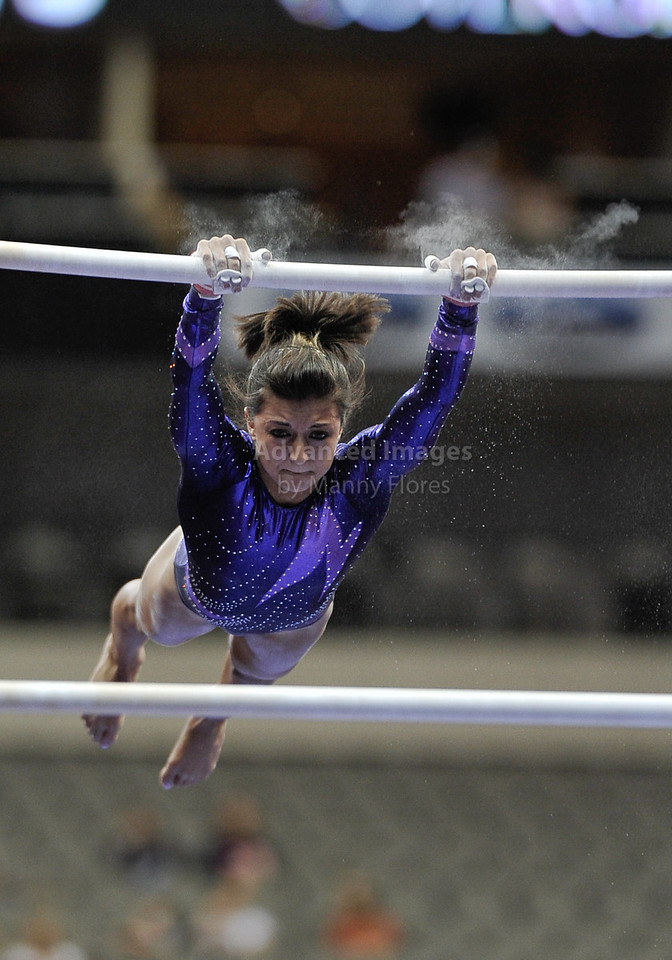 2009 Visa Championship:  Women's Competition (Aug. 12th - 15th) <br /> #149 Brooke Parker of Capital GNTC in action at the American Airlines Center in Dallas, Texas.