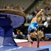 2009 Visa Championship:  Women's Competition (Aug. 12th - 15th) <br /> #150 Samantha Peszek of Sharps in action at the American Airlines Center in Dallas, Texas.