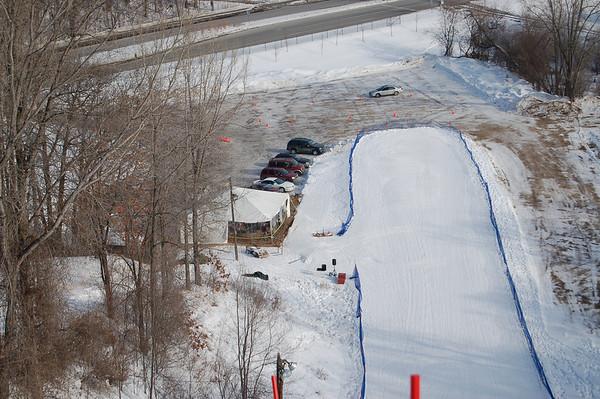 """Minneapolis """"Big Hill"""" Ski Jumping Tournament:  January 28, 2009"""