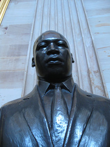 MLK statue in the rotunda...