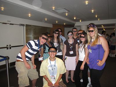 Going to see the 4-D movie at the Newseum.