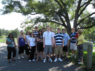 1st stop... Arlington Cemetery. Lots of hills!