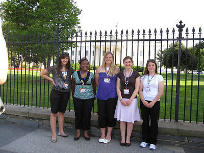 Elena Smith, Shirley Thomas, Payton Lupu, Melody Williams, and Kelsey Rogers.