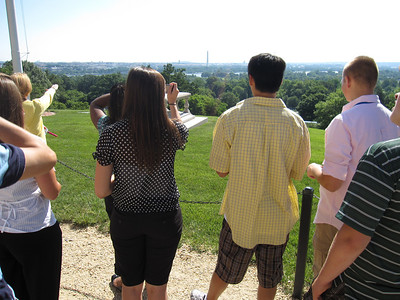 A view of D.C. from Arlington.