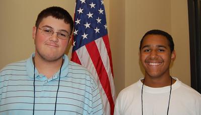 Ryan Jones and Paul Harris - Lynches River Electric Cooperative representatives.