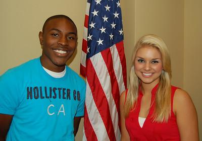 Jamel Roberts and Ali Rogers - Laurens Electric Cooperative representatives.
