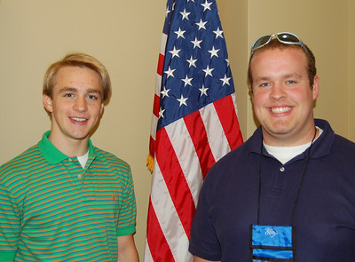 Sam Anderson and Wade Lucas - York Electric Cooperative representatives.