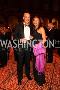 Ken and Jessica Farquhar. 2009 Charity Works Dream Ball. National Building Museum. September 26, 2009. photos by Tony Powell