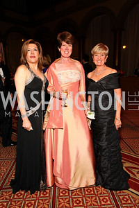 Faye Rokni, Rosemary Laphen, Faye Morrissette. 2009 Charity Works Dream Ball. National Building Museum. September 26, 2009. photos by Tony Powell
