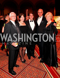 Jack, Laura, and Doug Gansler with Hans Binnendijk and Mary Locke. 2009 Charity Works Dream Ball. National Building Museum. September 26, 2009. photos by Tony Powell