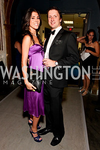 Bisnow's Madeleine Starkey and Mike Ponticelli, 2009 Wolf Trap Ball - Germany Celebrates 20 Years of Freedom Without Walls - photo by Tony Powell