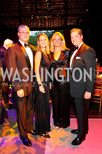 Andrew and Jennifer Sprague, Kristen and Nels Olson, 2009 Wolf Trap Ball - Germany Celebrates 20 Years of Freedom Without Walls - photo by Tony Powell
