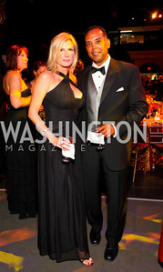 Lisa Adams and Steven Russell, 2009 Wolf Trap Ball - Germany Celebrates 20 Years of Freedom Without Walls - photo by Tony Powell