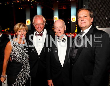 Ball Co-Chair Mary Arnold, Germany Amb. Klaus Scharioth, Ball Co-Chair Jim Nesbitt, Wolf Trap Foundation Board of Directors Chairman, Jerry Kohlenberger, 2009 Wolf Trap Ball - Germany Celebrates 20 Years of Freedom Without Walls - photo by Tony Powell