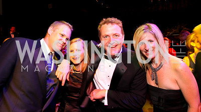 Jon and Heather Elliott, MIX 107.3 Radio Host Rob Carson, Kelly McConnell, 2009 Wolf Trap Ball - Germany Celebrates 20 Years of Freedom Without Walls - photo by Tony Powell