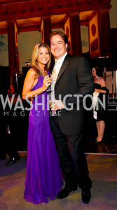 Callie Meccarielli and Brad Nierenberg, 2009 Wolf Trap Ball - Germany Celebrates 20 Years of Freedom Without Walls - photo by Tony Powell