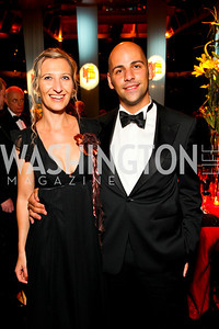 Julie and Fabricio Spalvieri, 2009 Wolf Trap Ball - Germany Celebrates 20 Years of Freedom Without Walls - photo by Tony Powell