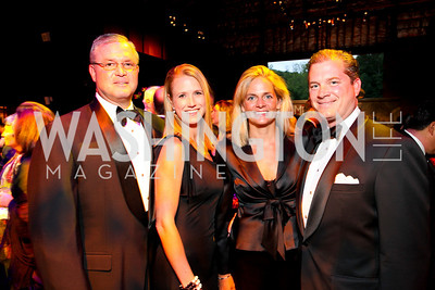 Andrew and Jennifer Sprague, Kristen and Nels Olson, 2009 Wolf Trap Ball - Germany Celebrates 20 Years of Freedom Without Walls - photograph by Tony Powell