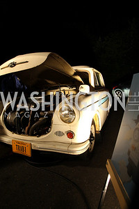The Trabant is regarded with derisive affection as a symbol of the failed former East Germany and of the fall of communism, 2009 Wolf Trap Ball - Germany Celebrates 20 Years of Freedom Without Walls - photo by Tony Powell
