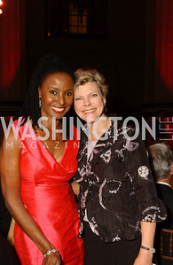 B. Smith, Cokie Roberts  A crowd of well-wishers and supporters gather at the Mellon Auditorium in Washington, DC to celebrate the 30th anniversary of the Diane Rehm Show on WAMU and to salute its' hostess, Diane Rehm, , on Thursday,  September 24, 2009.   (James R. Brantley)