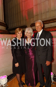 Vicki Sant, Diane Rehm, Roger Sant  A crowd of well-wishers and supporters gather at the Mellon Auditorium in Washington, DC to celebrate the 30th anniversary of the Diane Rehm Show on WAMU and to salute its' hostess, Diane Rehm, , on Thursday,  September 24, 2009.   (James R. Brantley)