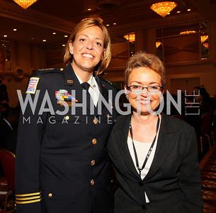 Cathy L Lanier, Sharon Pratt (Photo by Tony Powell)