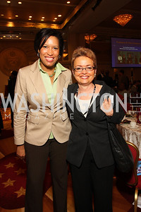 Muriel Bowser, Sharon Pratt (Photo by Tony Powell)