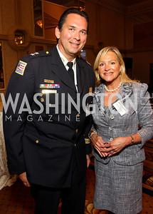 Peter Newsham, Deborah Sigmund (Photo by Tony Powell)