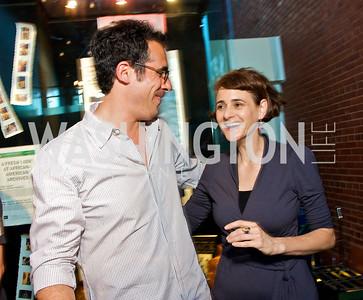 Toby Oppenheimer, Dana Flor, (Photo by Tony Powell)