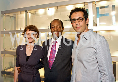 Dana Flor, Marion Barry, Toby Oppenheimer, (Photo by Tony Powell)