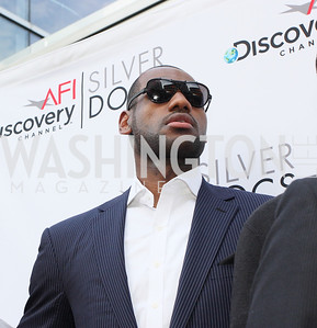 "LeBron James.The AFI-Discovery Channel Silverdocs Documentary Festival opening night screening of ""More Than a Game"" June 15, 2009 (Photo by Tony Powell)"