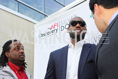 "LeBron James. The AFI-Discovery Channel Silverdocs Documentary Festival opening night screening of ""More Than a Game"" June 15, 2009 (Photo by Tony Powell)"