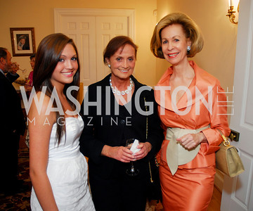 Brenda Meister, Alexa Novakoski, Bonnie McElveen-Hunter,, Photo by Kyle Samperton
