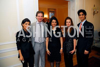 Rina Amiri, Peter Bergen, Shamin Jawad, Tresha Mabile, Iman Jawad, Photo by Kyle Samperton