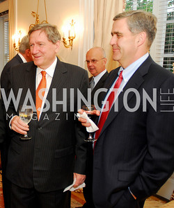 Richard Holbrooke, Douglas Lute, Photo by Kyle Samperton