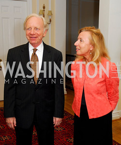 Joseph Lieberman, Hadassah Lieberman, Photo by Kyle Samperton