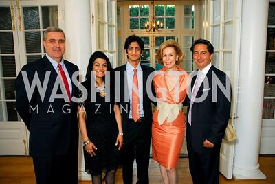 Douglas Lute, Shamin Jawad, Iman Jawad, Bonnie Mcelveen-Hunter, Said Jawad,  Photo by Kyle Samperton