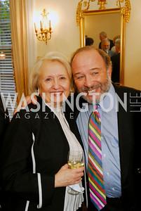 Amb Melanne Verveer, Joe Klein, Photo by Kyle Samperton