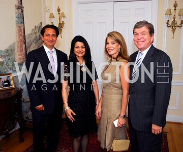 Amb Said Jawad, Shamin Jawad, Abigail Blunt, Roy Blunt , Photo by Kyle Samperton