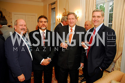 kyle samperton, Abassador Holbrooke, james Bever, Minister Sayed Fatimie, Amb.Richard Holbrooke, Lt.Gen.Douglas Lute, Photo by Kyle Samperton