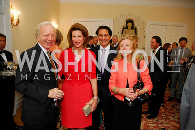 Joseph Lieberman, Nancy Brinker, Said Jawad, Hadassah Lieberman, Photo by Kyle Samperton