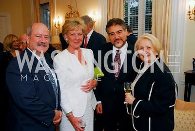 James Bever, Leslie Schweitzer, Minister Sayed Fatimie, Amb Melanne Verveer , Photo by Kyle Samperton