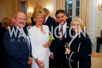 James Bever, Leslie Schweitzer, Minister Sayed Fatimie, Amb Melanne Verveer , Photo by Kyle Samperton