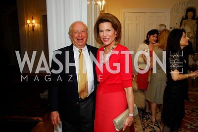 Lawrence Levinson, Nancy Brinker , Photo by Kyle Samperton
